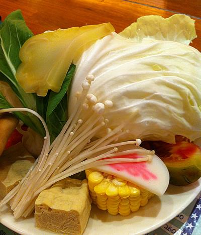 市民大道涮涮鍋野菜