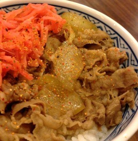 台北 吉野家 牛丼