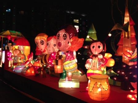 台北ランタン祭子供