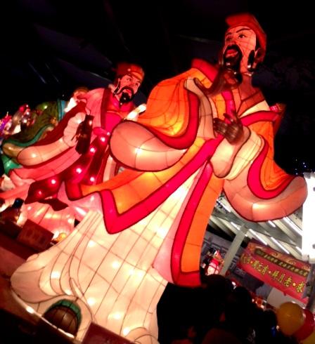 台北ランタン祭神様