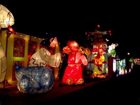 台北ランタン祭中華