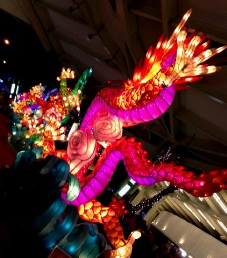 台北ランタン祭竜