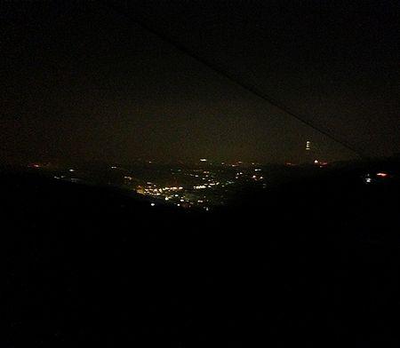 猫空最初の夜景