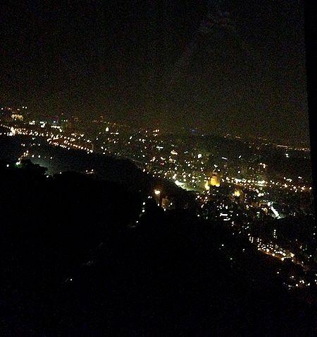 猫空降りた夜景