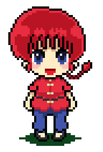 big Ranma Female