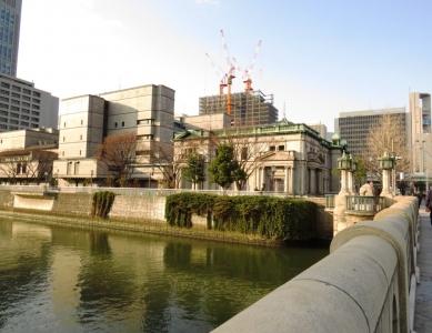 淀や罰と日本銀行大阪支店旧館