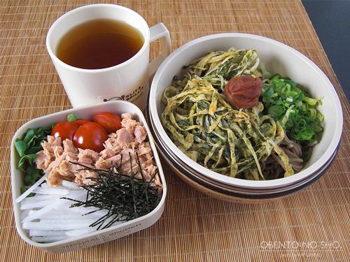 ごぼうの磯辺揚げ蕎麦弁当01