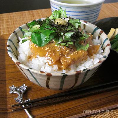 胡麻鯛茶漬けのおウチご飯02
