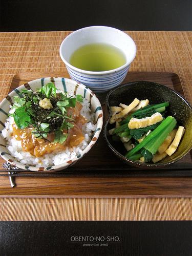 胡麻鯛茶漬けのおウチご飯01