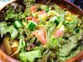 柿の野菜サラダ