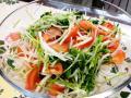 大根と豆苗のサラダ