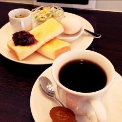 珈琲&小倉トースト