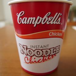 キャンベルのカップ麺!