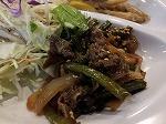 20121214_にんにくの茎の炒め