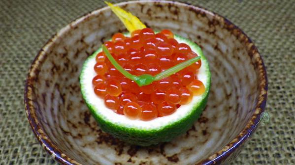 柚子釜イクラ