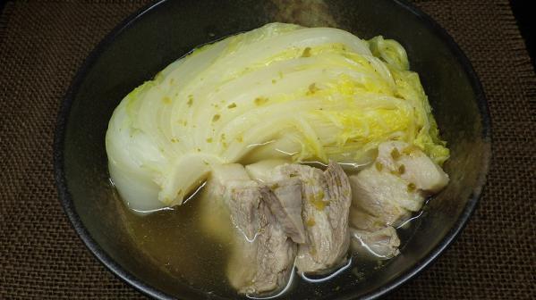 白菜スープ煮