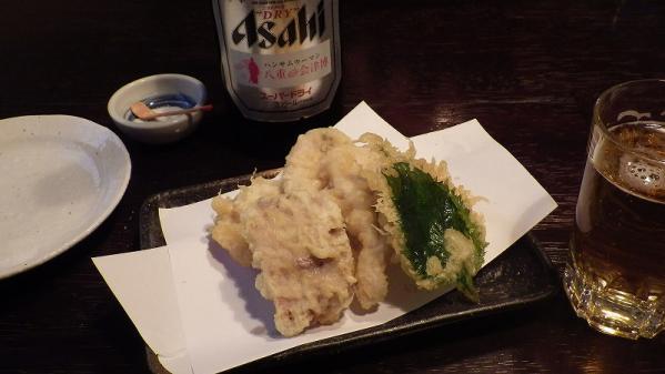 鯉の天ぷら