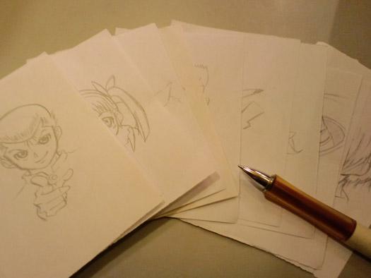 練習描きイラスト