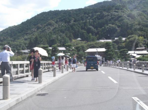 20120825渡月橋②桂川
