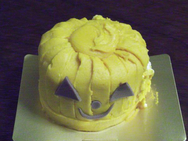 20121021パンプキンケーキ