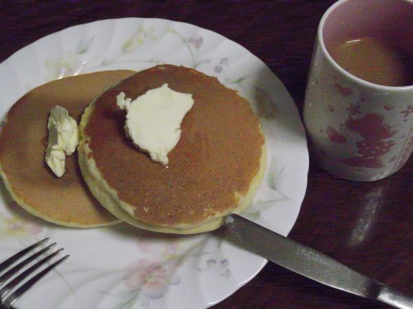 20121117ホットケーキ