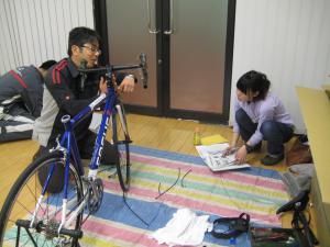 自転車メンテナンス講座