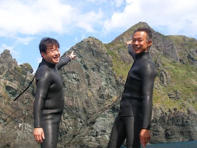 ケラマ久場島ダイビング