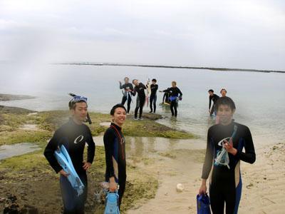 本島シュノーケリング