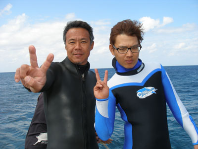 半日チービシ諸島ダイビング