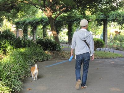 日比谷公園お散歩出発