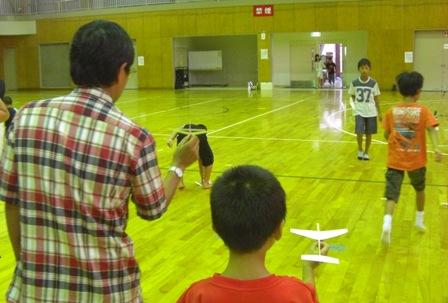 紙飛行機教室5