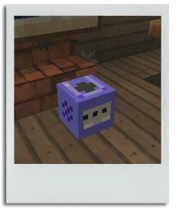 MCM20130118エントランスのゲームキューブ