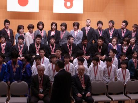 体育協会表彰式2