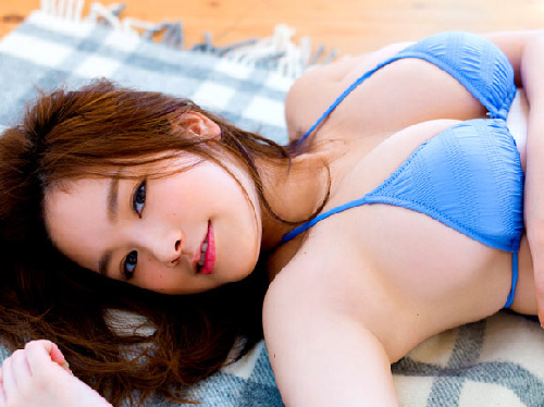 脅威のHカップ!筧美和子(19)のはち切れそうな爆乳エロ画像×63