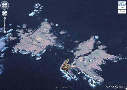 ◇竹島(韓国名・独島) Google Earth takeshimaのコピー