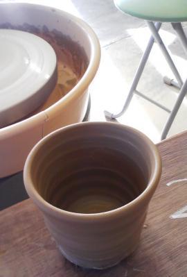 陶芸教室での私の作品