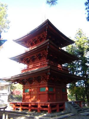 本宮神社 三重塔