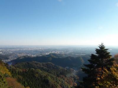 関東平野を望む