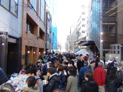 元禄市は大盛況