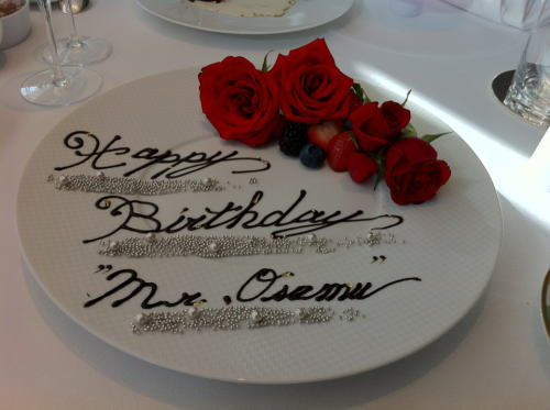 東海林修先生、お誕生日おめでとうございます。