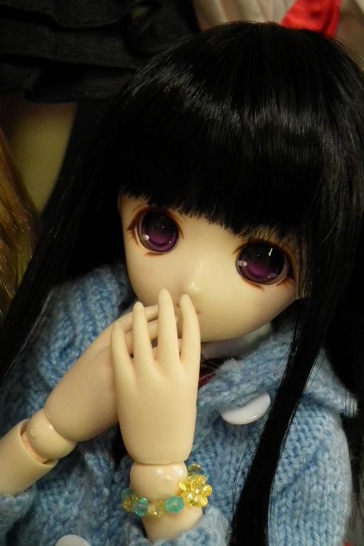 黒髪開眼姫さん!