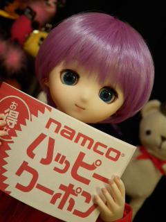 ナムコさんのキャッチャー、お菓子多いよ。