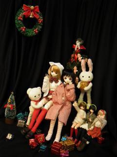 クリスマスは準備中です。