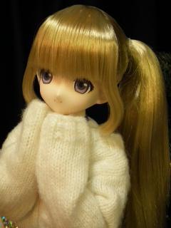 だぶだぶセーターがかわいい。