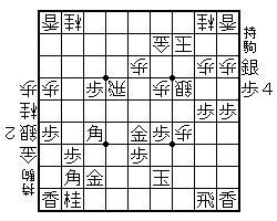 部内リーグ戦 山内対沖田 途中図②