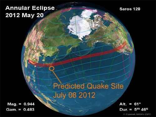 東海地震予測