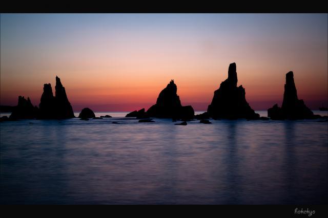 夜と朝 空と海