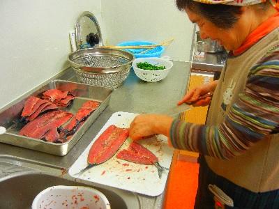 20141125秋刀魚の背開き