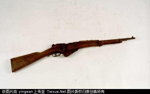 百色起義使用的法國造M1916式步槍