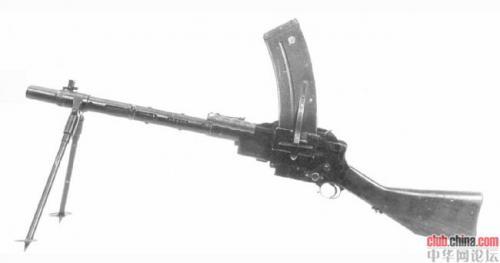 丹麦造麦特森轻机枪